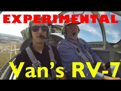Flying the Experimental Van's RV-7