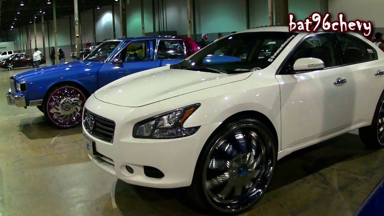 2012 Nissan Maxima Sv On 28 Quot Dub Nolia Bellagio Spinners