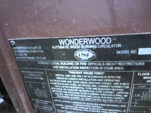 Us Stove Co. Wonder Wood Wood burner and Bud ice - Us Stove Co. Wonder Wood Wood Burner And Bud Ice - YouTube
