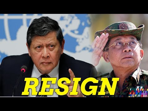 UN's fact-finding team says Myanmar commander-in-chief should resign immediately