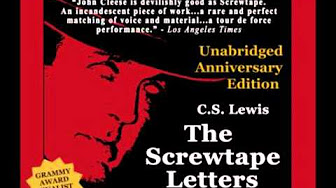 Screwtape letters is a classic satire