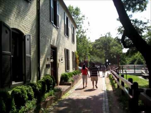M-street. Georgetown, Washington D.C.(PART 1)