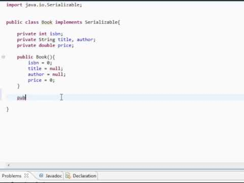 Java Simple Library System Part 1 Youtube