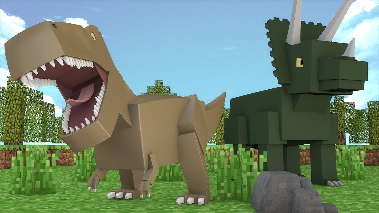 майнкрафт динозавры ютуб #7