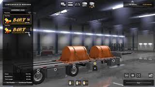 Mac Stepdeck Trailer by B4RT - American Truck Simulator by tiago witt
