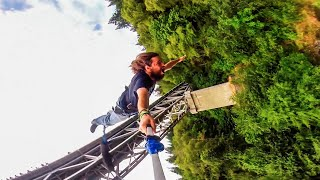 Epic Bungee Jumping in the California Wilderness!!