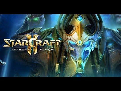 Lets Play StarCraft II Legacy of the Void Prolog #1 Flüstern in der Dunkelheit