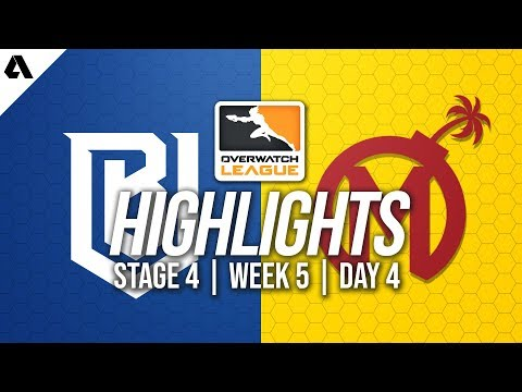 Boston Uprising vs Florida Mayhem | Overwatch League Highlights OWL Stage 4 Week 5 Day 4 thumbnail