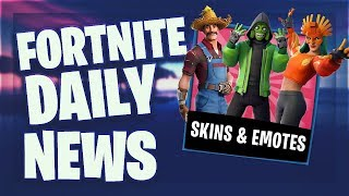 Fortnite Daily News 'LEAKED' SKINS - EMOTES SEASON 8 (28 Februar 2019)