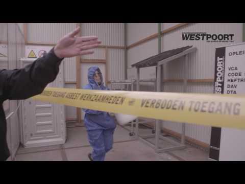 Asbest Instructie Video 5: Transitroute en decontaminatie procedure