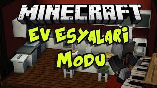 EV EŞYALARI MODU!!  Minecraft Mod İncelemeleri (Bilgisayar,Tv,Klozet Vb) - Bölüm 6