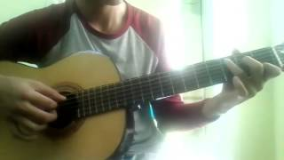 On rainy day-guitar intro