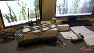 icom ic 7300 tactical rails by portable zero