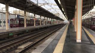 阪急 6000系 6015F 京都線試運転