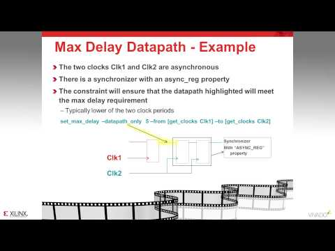 Advanced Timing Exceptions   False Path, Min Max Delay and Set Case Analysis