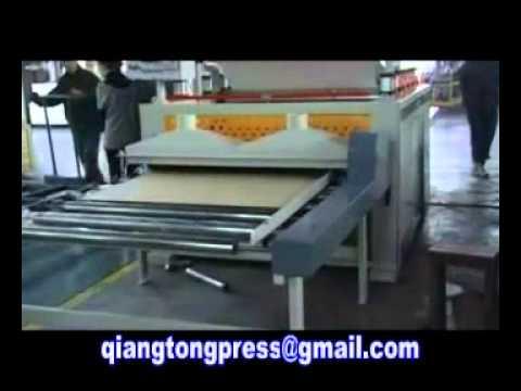 Pur Hot Melt Glue Laminating Line Pvc Film Board