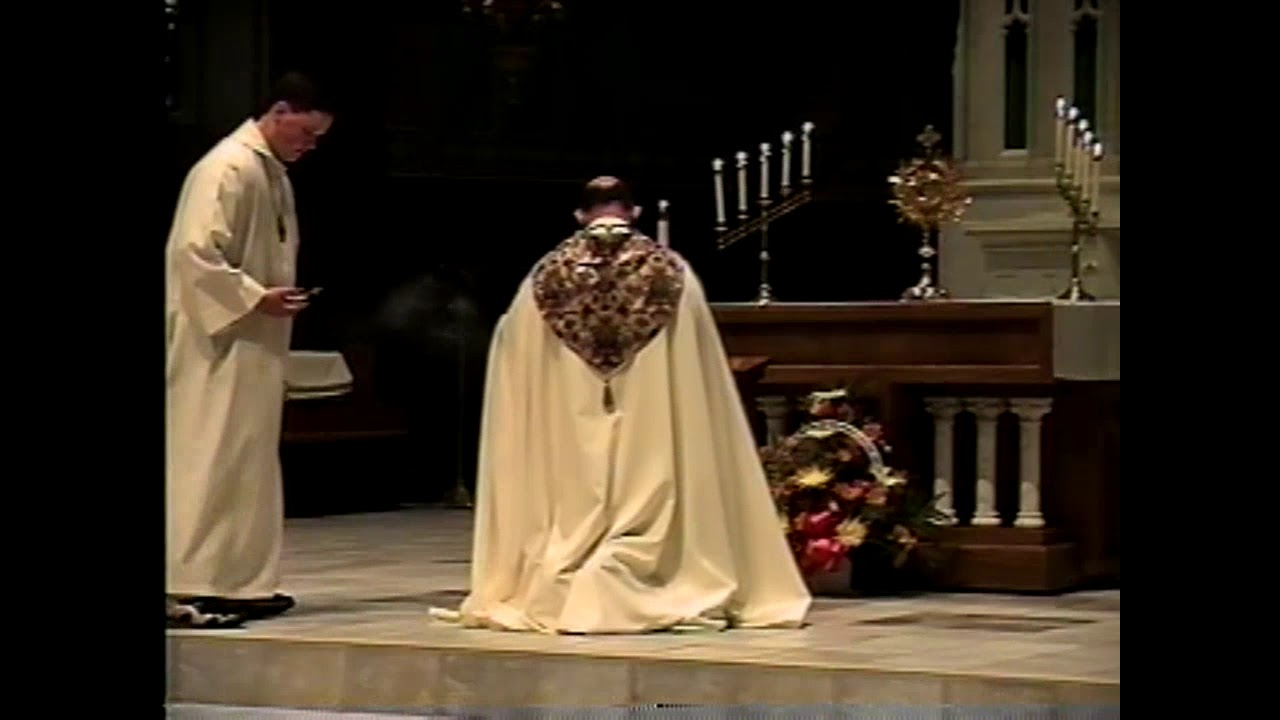 Bishop Loverde at NAPP  8-18-98