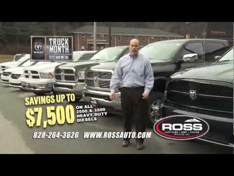 Ross Chrysler Jeep Dodge   Commercial January 2012