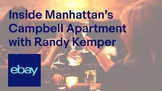 eBay   Inside Manhattan's Campbell Apartment with Randy Kemper