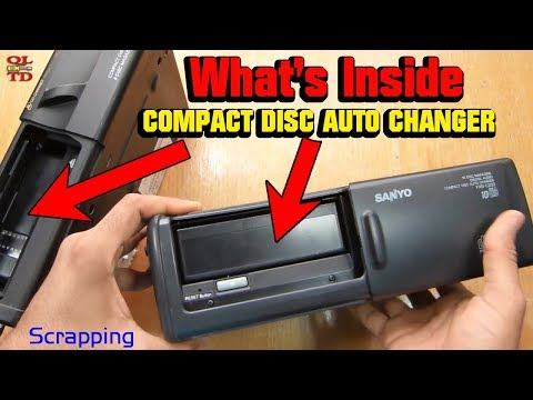 Scrapping two COMPACT DISC AUTO CHANGER