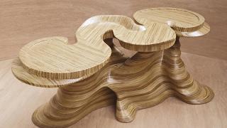 видео Резной журнальный столик из дерева: как сделать его своими руками