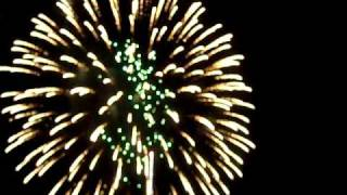 Fireworks display Antietam National Battlefield July 3 2010  10 minutes part 1 of 2