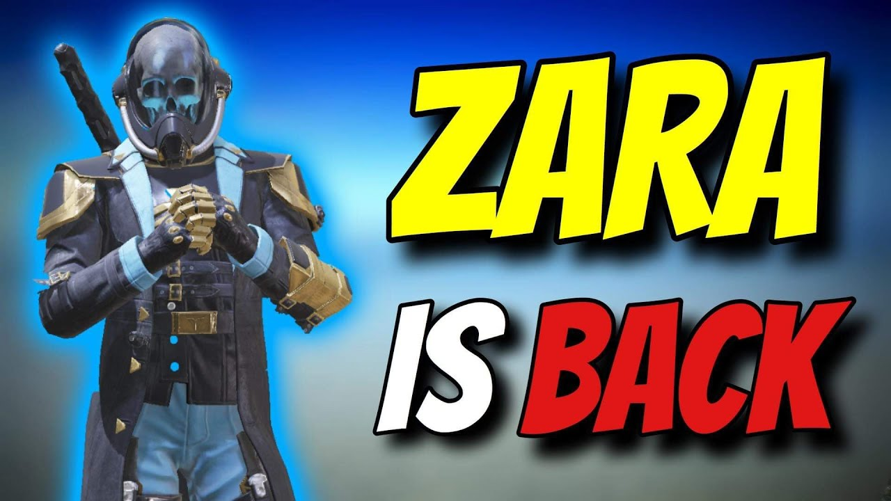 ZARA COD IS BACK !! Solo vs Squads Gameplay Legendary Rank | Call of Duty Mobile Battle Royale