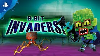 8-Bit Invaders! - Launch Trailer  | PS4
