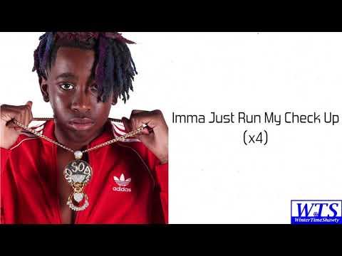 Street Bud - Run My Check Up (Lyrics)   #TheRapGame