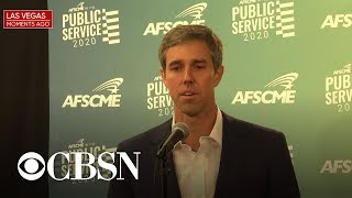 #ElPaso Beto O'Rourke responds to mall shooting in El Paso, TX