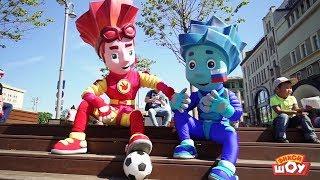 Фиксики на Чемпионате мира по футболу The Fixies