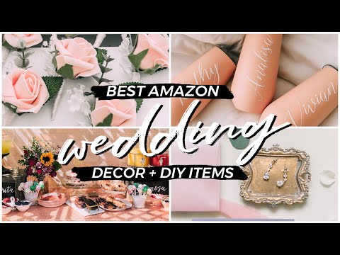 10-best-amazon-wedding-products-for-brides-on-a-budget-|-decorations,-floral,-bridesmaids-gifts