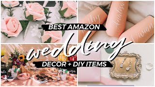 10 Best Amazon Wedding Products for Brides on a Budget | Decorations, Floral, Bridesmaids Gifts