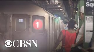 NYPD boosts transit patrols as NYC's subway service fully returns