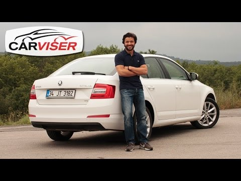Skoda Octavia 1.6 TDI DSG Test Sr Review English subtitled