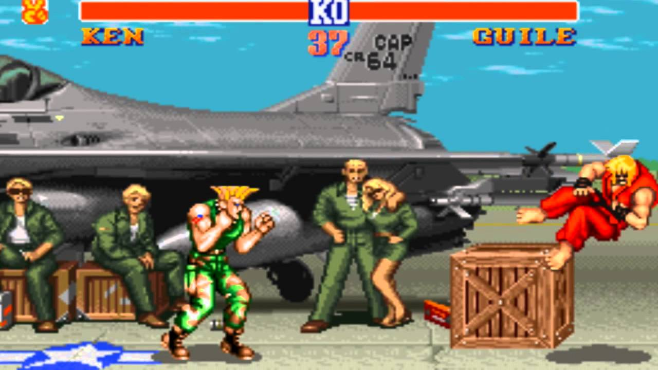 Guile Theme Street Fighter 2   With gameplay     YouTube Guile Theme Street Fighter 2   With gameplay
