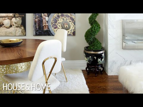 Interior Design — Luxurious & Glam Small Townhouse Makeover