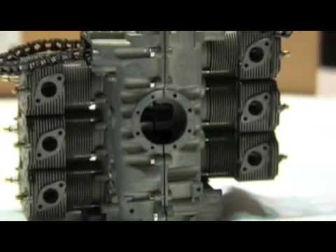 marushin porsche model engine part 1 youtube. Black Bedroom Furniture Sets. Home Design Ideas
