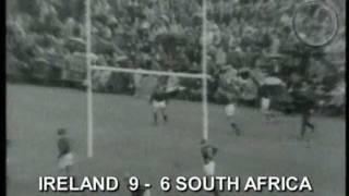 Ireland vs South Africa Rugby 1965