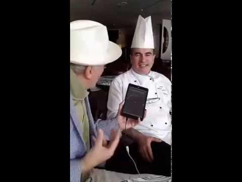 Elio Crociani intervista in diretta su RMTV Antonino Sanna Chef Hotel Excelsior *****L Lido Venezia