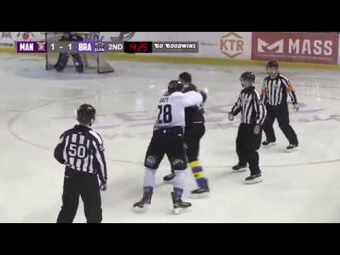 Jay Rosehill vs Jake Doty EIHL fight 28118