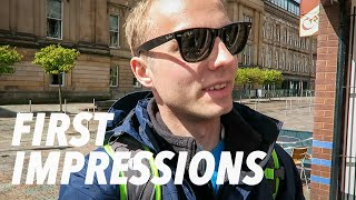 Gambar cover FIRST DAY IN SCOTLAND! (Glasgow first impressions)