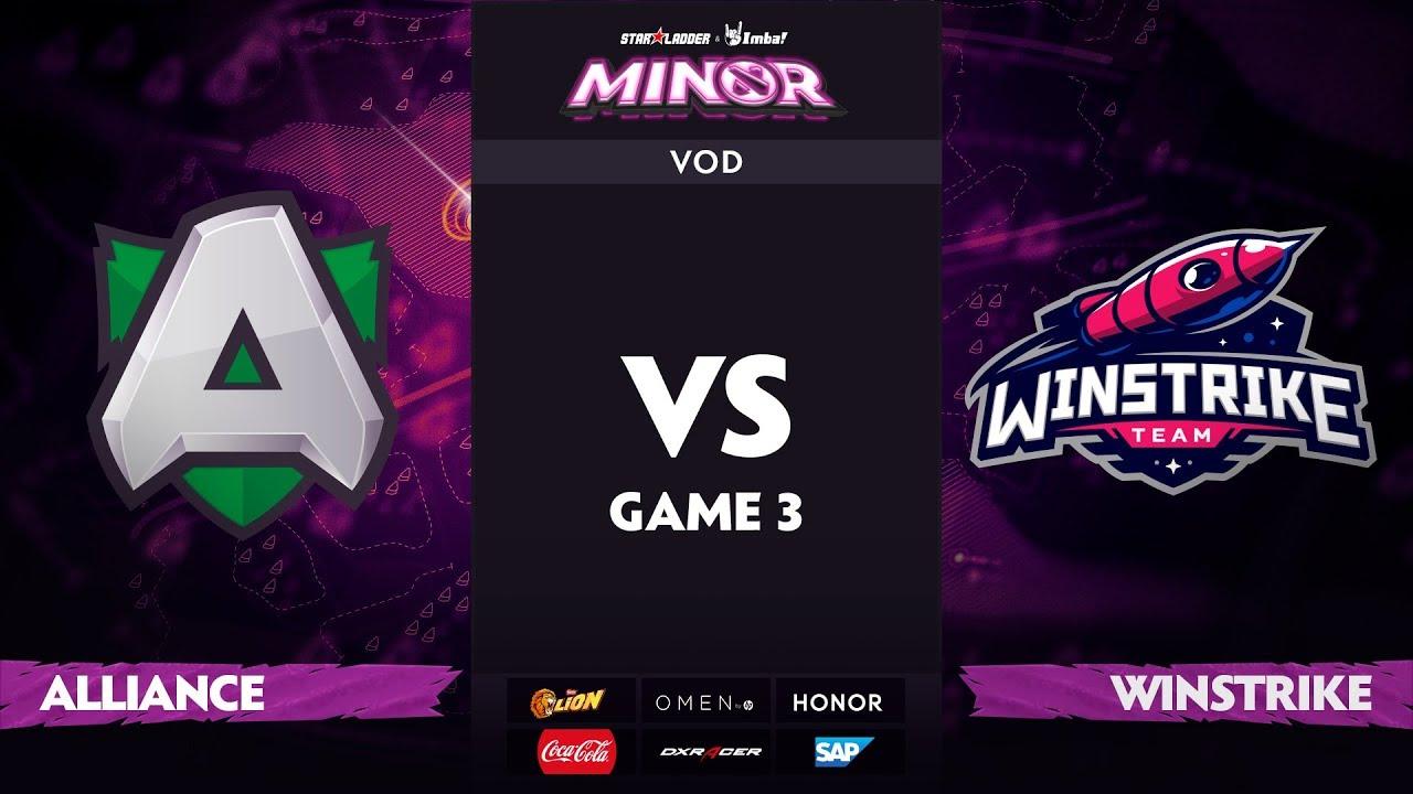 [RU] Alliance vs Winstrike, Game 3, StarLadder ImbaTV Dota 2 Minor S2 Group Stage