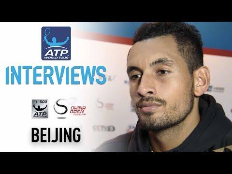 Kyrgios Finding His Groove In Beijing 2017