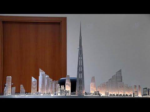 تقدم بناء أطول برج في العالم بالرغم من اعتقال بعض المقاولين