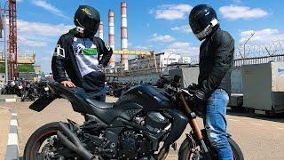 Подарил мотоцикл Пилоту | PilotZX6r в Москве