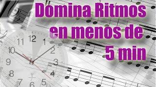 Domina los ritmos musicales en menos de 5 minutos: lectura m...