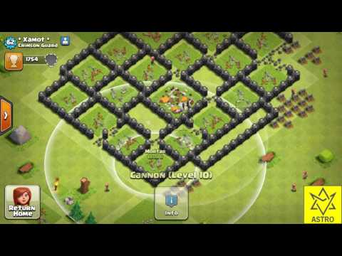 TH 8 MAX WITH NO ELIXIR/GOLD STORAGES !!!!COC