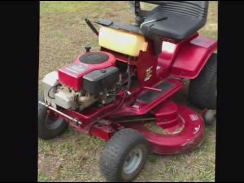 14 HP Murray Mower 42813x92B Blowing the Fuse  YouTube