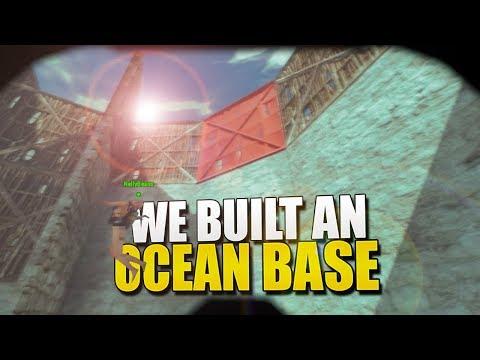 WE BUILT AN OCEAN BASE (Rust Survival) #171